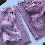 Zephyr Rouge - Luxury Faux Fur 2019