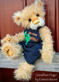"Jonathan Hugo - 18"" Mohair Toddler Artist Bear by Emma's Bears - OOAK"