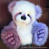 "Cotton Candy - 22"" faux fur Artist Bear by Emma's Bears - OOAK"