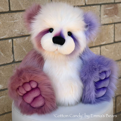 "KIT - 22"" Cotton Candy Panda Bear"