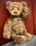 "Bernard - 15"" kid mohair bear by Emmas Bears - OOAK"