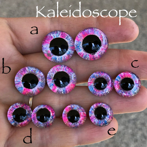 Hand Painted Eyes - Kaleidoscope