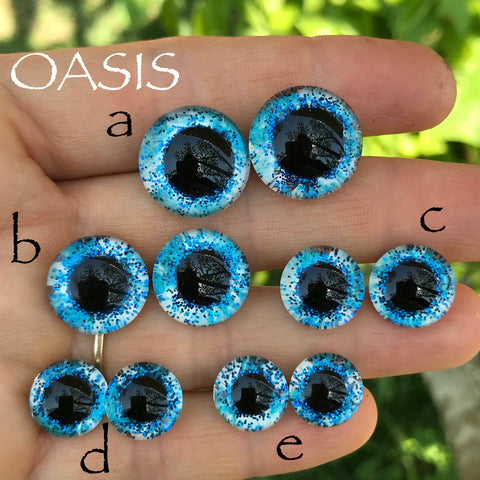 Hand Painted Eyes - Oasis