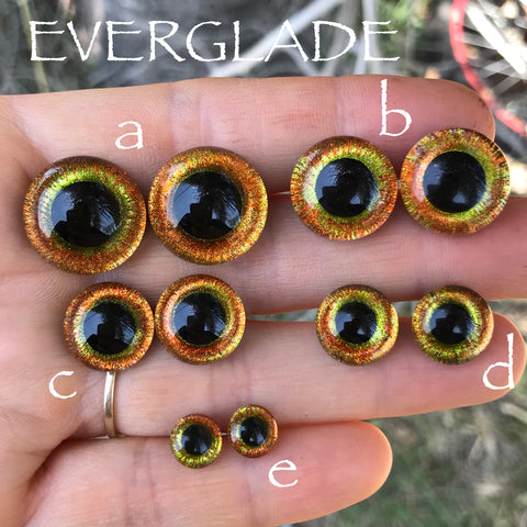 Hand Painted Eyes - Everglade