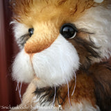 "Snickerdoodle - 17"" Mohair artist bunny by Emma's Bears - OOAK"