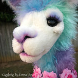 "Gigglefig - 23"" Mohair and Alpaca LLAMA by Emma's Bears - OOAK"