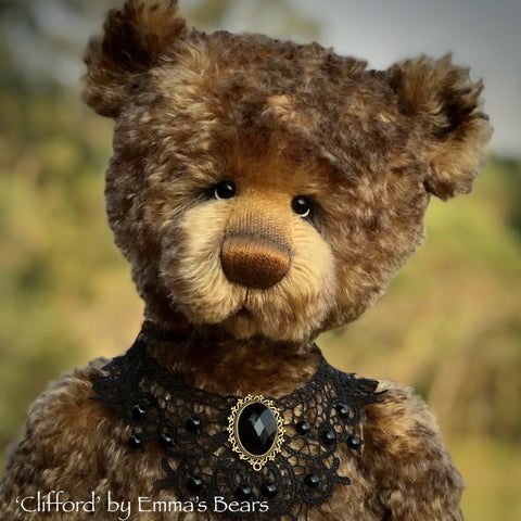 "Clifford - 20"" Kid Mohair artist bear by Emma's Bears - OOAK"