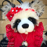"Mallory Vienna - 19"" Christmas 2019 Toddler Artist Bear by Emma's Bears - OOAK"