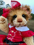 "Baby Claus - 15"" Mohair and Alpaca Artist baby style Bear by Emma's Bears - OOAK"