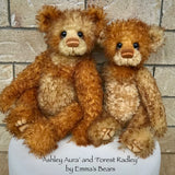 "Ashley Aura - 21"" Hand Dyed Mohair Toddler Artist Bear by Emma's Bears - OOAK"