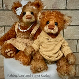 "Forest Radley - 18"" Hand Dyed Mohair Toddler Artist Bear by Emma's Bears - OOAK"