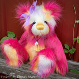 "Pavlova - 16"" faux fur Artist Bear by Emma's Bears - OOAK"