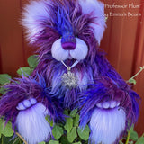 "KITS - 15"" Professor Plum faux fur bear"