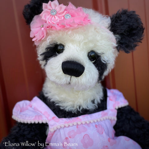 "Eliana Willow - 18"" Baby Artist Bear by Emma's Bears - OOAK"
