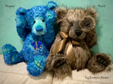 "Buck - 17"" faux fur bear by Emmas Bears - OOAK"
