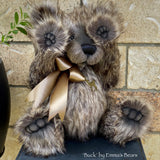 "KIT - 17"" BUCK bear in realistic faux fur"