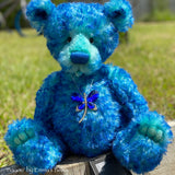 "Digital PATTERN - 17"" Huckleberry Bear"
