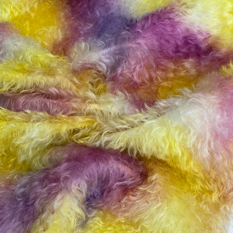 Bianca Mohair - Hand Dyed Sunshine - Oversized 1/8m - MAR011