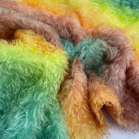Bianca Mohair - Hand Dyed Autumn - Fat 1/4m - MAR016