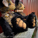"Jillian - 12"" Mohair Artist Bear by Emmas Bears - OOAK"