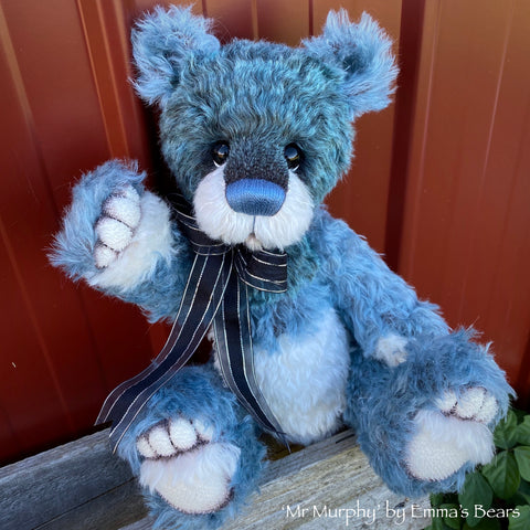 "Mr Murphy - 15"" Mohair Artist Bear by Emma's Bears - OOAK"