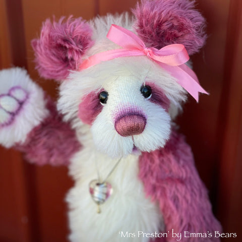 "Mrs Preston - 12"" Mohair Artist Bear by Emma's Bears - OOAK"