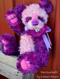 "Mrs Kosbeth - 12"" Mohair Artist Bear by Emma's Bears - OOAK"