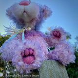 "Amaryllis - 11"" Mohair and Alpaca artist bear by Emma's Bears - OOAK"