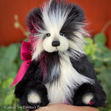 "KITS - 8"" Calico Faux Fur Artist Bear by Emmas Bears"