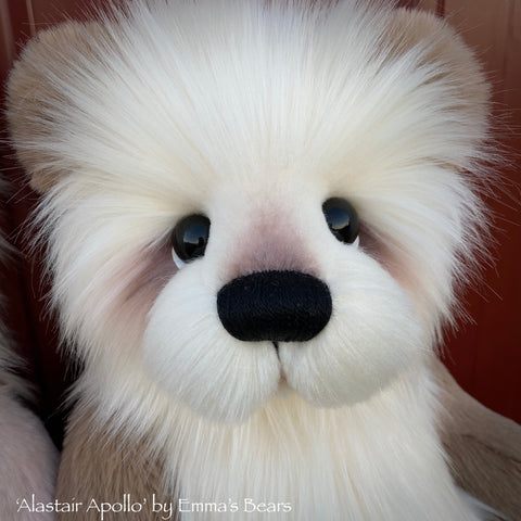 "Alastair Apollo - 18"" Baby Artist Bear by Emma's Bears - OOAK"