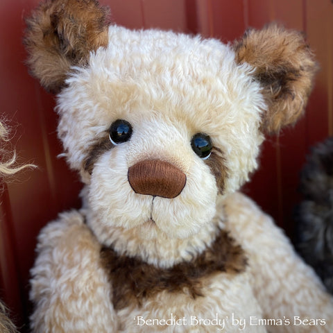 "Benedict Brody - 21"" Mohair Toddler Artist Bear by Emma's Bears - OOAK"