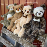 "Dewey Denver - 21"" Mohair Toddler Artist Bear by Emma's Bears - OOAK"