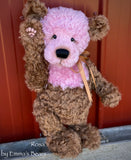 "Rosa - 17"" Kid Mohair Artist Bear by Emma's Bears - OOAK"