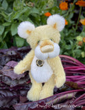 "Dwight - 11"" Hand Dyed Mohair and Alpaca Artist Bear by Emma's Bears - OOAK"