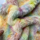 Long Alpaca - Hand Dyed Confetti - Fat 1/8m - AUG061