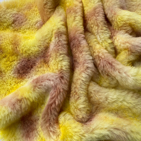 Medium Alpaca  - Hand Dyed Sunflower Field - Fat 1/4m  - AUG043