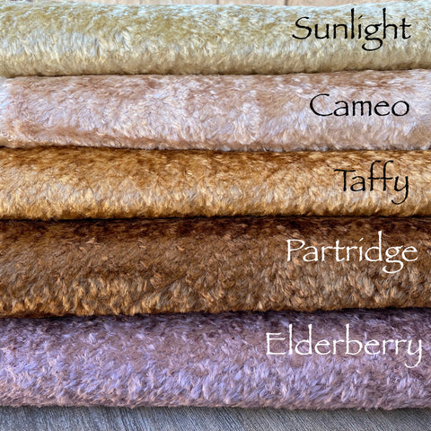 Textured Viscose - Elderberry