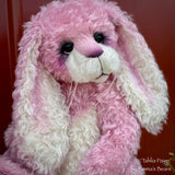 Angelica - Pink Curly Kid Mohair