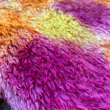 Textured Viscose - Hand Dyed Party Time - Fat 1/8m - SEP047