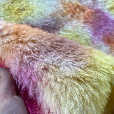 Long Alpaca - Hand Dyed Wilderness - Fat 1/8m - SEP030