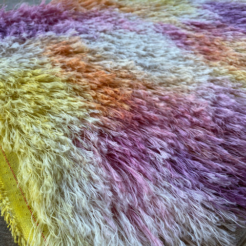 String Mohair - Hand Dyed Fruit Punch - Fat 1/4m - SEP011