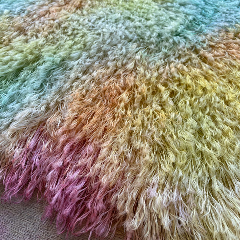 String Mohair - Hand Dyed Carnival - Fat 1/4m - SEP009