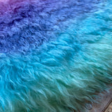 Super Long Pile Mohair - Hand Dyed Lagoon - Fat 1/4m - SEP007