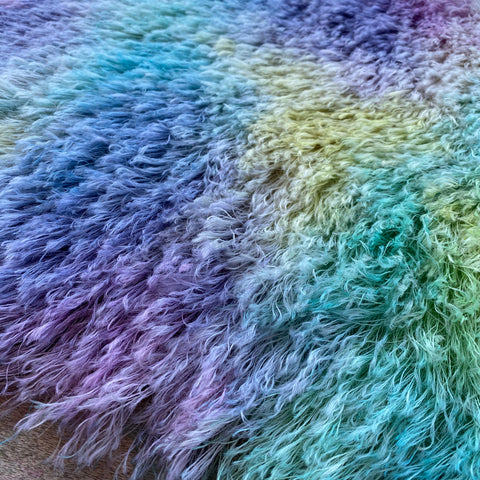 String Mohair - Hand Dyed Springtime - Fat 1/4m - SEP010