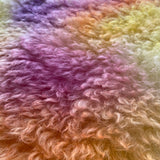 Eddie Long Shaggy Mohair - Hand Dyed Sunset - Fat 1/4m - SEP001