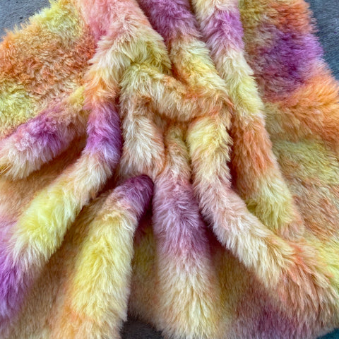Long Alpaca - Hand Dyed Summertime - Fat 1/4m - SEP043