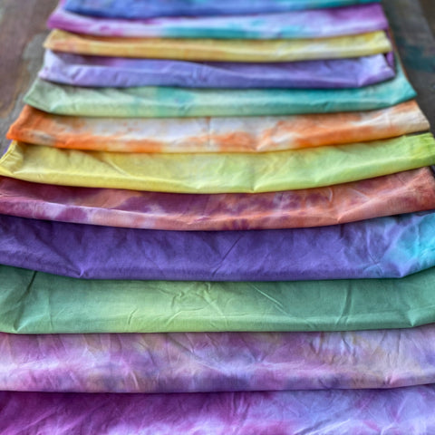 Cotton/Poly blend fabric - Hand Dyed by Chelsea