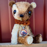 "Spooky - 8"" Viscose Artist Bear by Emma's Bears - OOAK"
