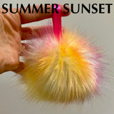 Handmade Faux Fur POMPOMS - REGULAR