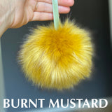 LIMITED Handmade Faux Fur POMPOMS - LARGE